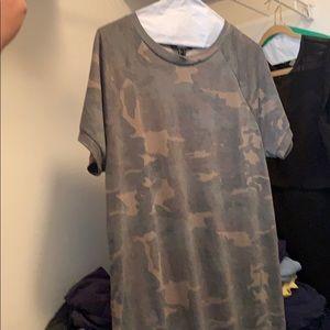 Knit Army Dress